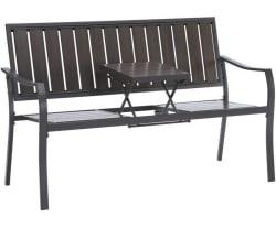 Mainstays Endurowood Pop-Up Bench for $44