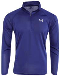 Under Armour Men's UA Tech 1/2 Zip Pullover for $17 + $6.95 s&h