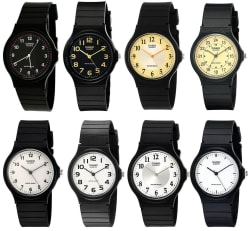 Casio Men's Resin Watch for $7