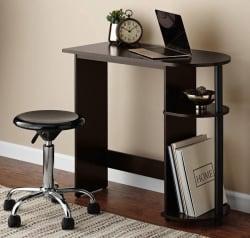 Mainstays Computer Desk W Side Storage For 14