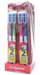 Colgate Double Action Medium Toothbrush 12pk $5