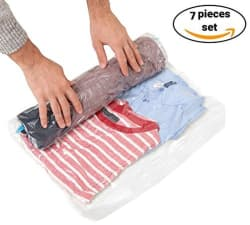 Clothes Travel Storage Bag 7-Pack for $6