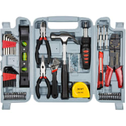 Stalwart 130-Piece Hand Tool Set for $15