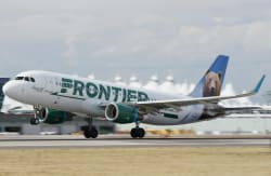 Frontier Airlines Midweek Fares from $28 1-Way