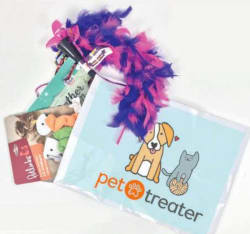 Pet Treater Monthly Cat Pack: 1st month for $7