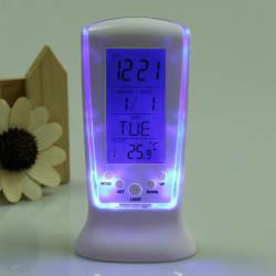 Digital Temperature Calendar LCD Alarm Clock $3
