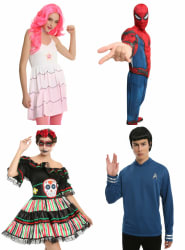 Halloween Costumes at Hot Topic: 75% off