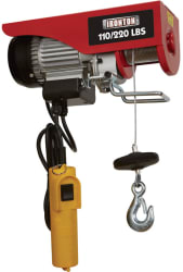 Ironton Double Line Electric Hoist for $50
