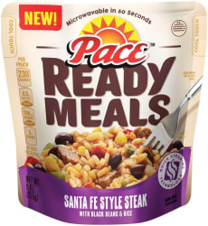 Pace Ready Meals 9-oz. Pouch 6-Pack for $6