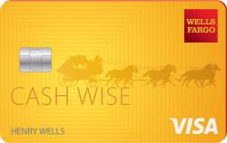 Wells Fargo Cash Wise Visa® Card $200 Cash Rewards
