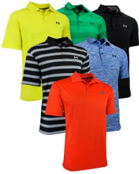 Under Armour Men's Polo Shirts 2-Pack for $44