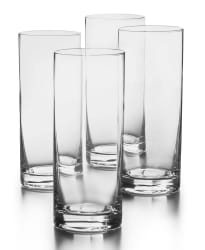 Hotel Collection Tom Collins Glasses 4-Pack for $16 + pickup