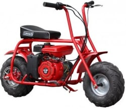 Coleman Trail 98cc Mini Bike for $299