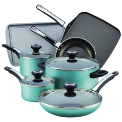 Farberware 17-Piece Nonstick Cookware Set for $26