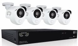 Night Owl 8-Ch. 4-Cam 1080p Security System $300