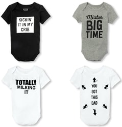 Children's Place Unisex Baby Bodysuits for $2