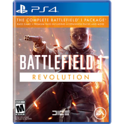 Battlefield 1: Revolution for PS4, XB1 for $40