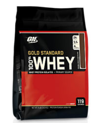 Optimum Nutrition 100% Whey Protein 8-lb. Bag $65