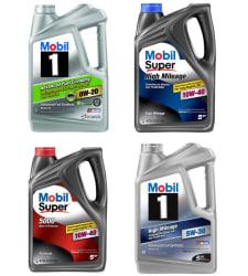 Mobil Motor Oil 5-Quart Bottles at Walmart from $7