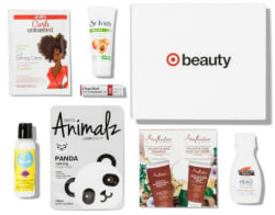 Target 7-Piece September Beauty Box for $5