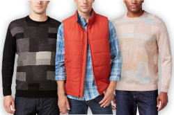 Men's Big & Tall Tops at Macy's for $6