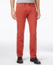 Levi's Men's 514 Straight Fit Authentic Jeans $24