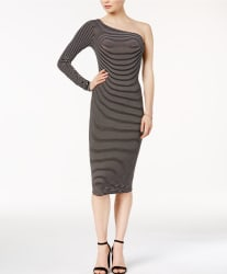 Bar III Women's One-Shoulder Bodycon Dress $17
