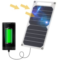 Portable 10W Solar Panel USB Charger for $8