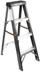 Werner 4ft. Fiberglass Type 2 Step Ladder for $25 + pickup
