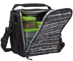 rubbermaid lunchblox medium lunch bag for 9