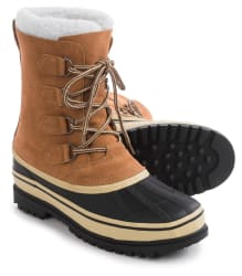 Telluride Men's Suede Pac Boots for $29
