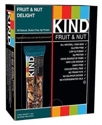 Kind 1.4-oz. Fruit & Nut Bar 12-Pack for $9