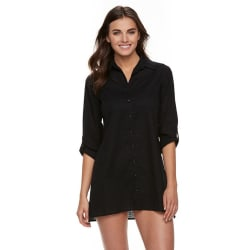 Apt. 9 Women's Roll-Tab Slubbed Cover-Up for $14