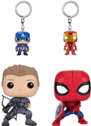 Funko Pop!: Captain America Civil War Set for $13