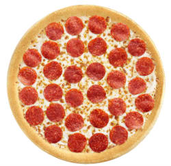 Pizza Hut Large Pepperoni Pizza for $1 w/ purchase