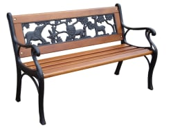 Garden Treasures Kids' Patio Bench for $22