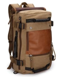 Ibagbar Canvas Backpack for $23