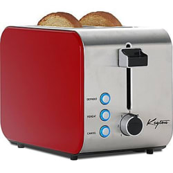 Keyton Stainless Steel 2-Slice Toaster for $12