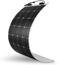 Renogy 100W 12V Flexible Monocrystalline Solar Panel for $170 + free shipping