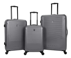Tag Riverside 3-Piece Hardside Luggage Set for $130 + free shipping