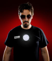 Stark Industries Light-Up LED Shirt $12