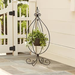 Essential Garden Hanging Basket Plant Stand for $8