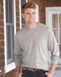 4 Hanes Men's ComfortSoft Long Sleeve Shirts $18