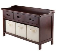 Winsome Adriana Storage Bench for $96