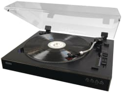 Jensen 3-Speed Stereo Turntable for $68