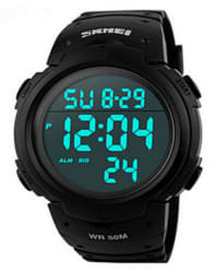 Skmei Men's 1068 Sports LED Watch for $7