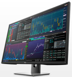 """2 Dell 43"""" 4K LED LCD Multi-Client Displays $1,453"""