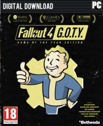 Fallout 4 Game Of The Year Edition on PC for $24