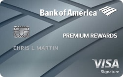 Bank of America® Premium Rewards® 50k Points Offer