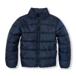 Children's Place Kids' Basic Puffer Jacket for $20